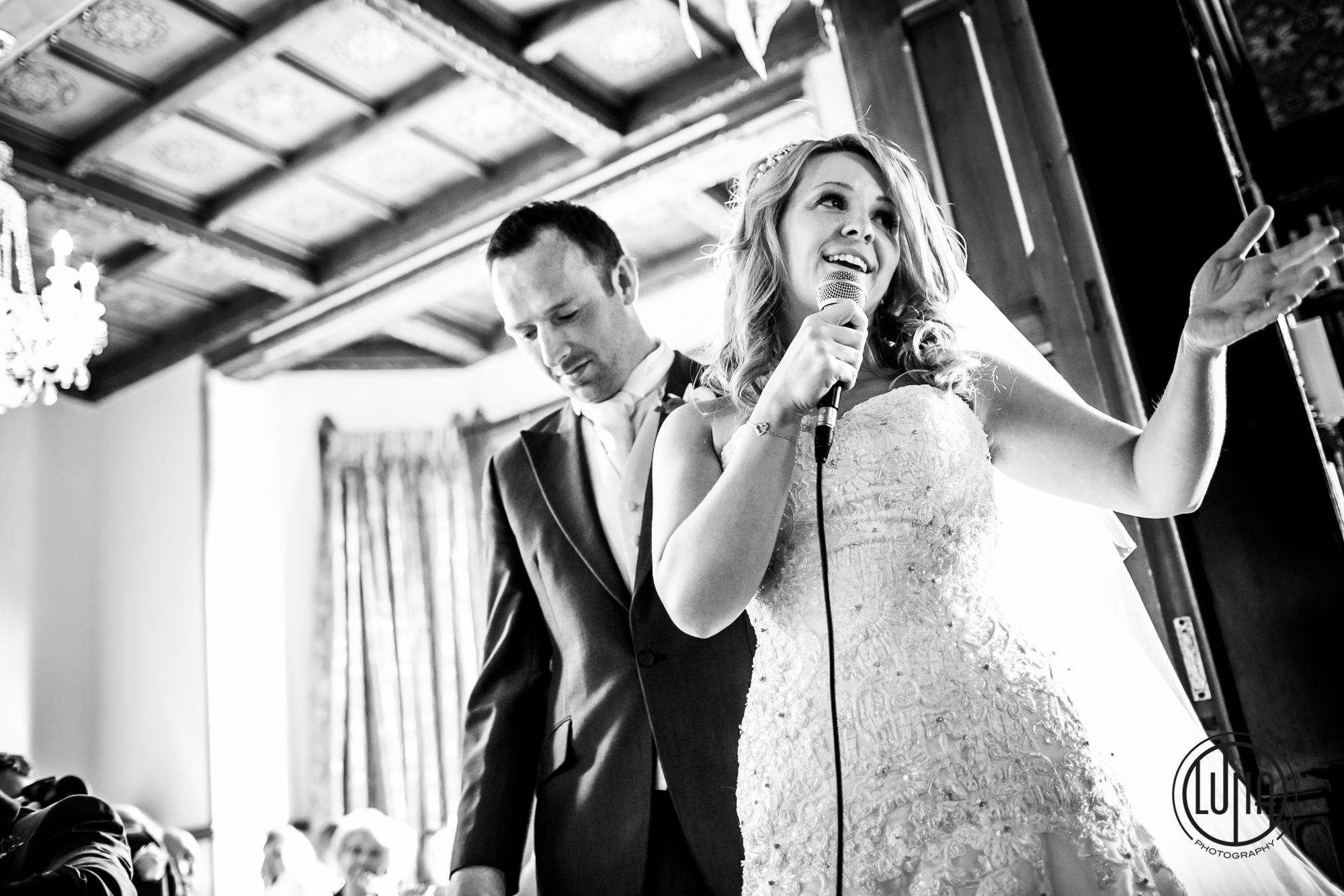 wedding speeches at huntsham court