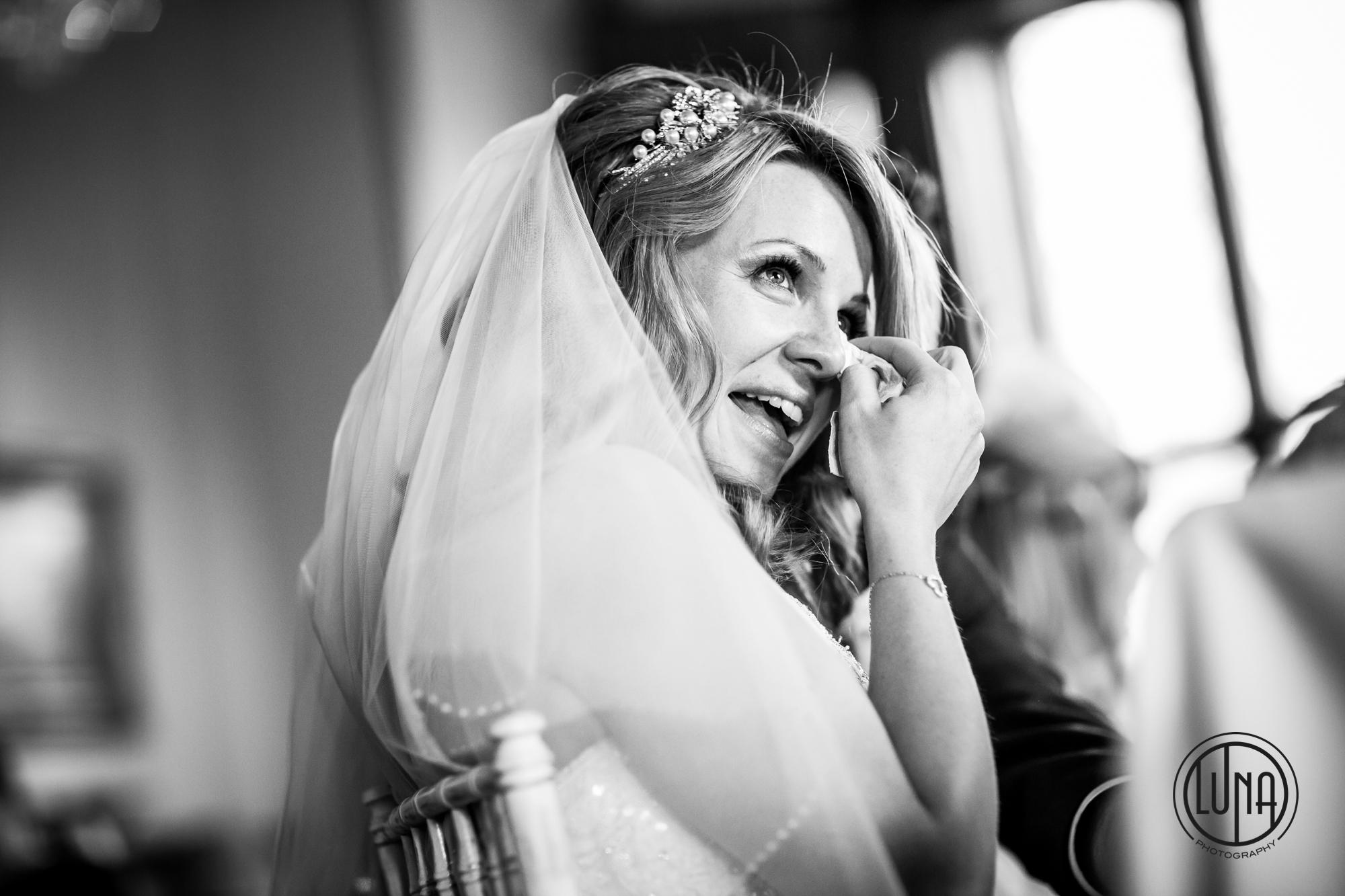 wedding speeches emotion at huntsham court wedding