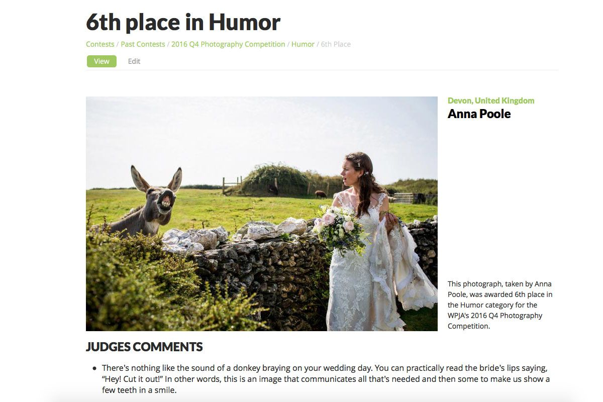 Luna Weddings Award winning wedding photography Devon
