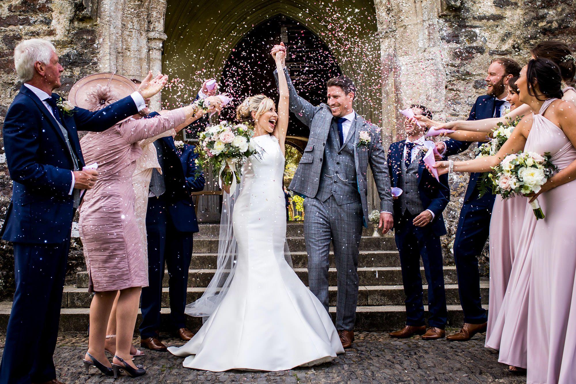 dartington hall wedding photography
